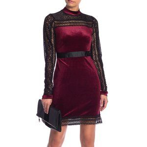 NWT Romeo & Juliet Couture Velvet and Lace Dress